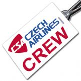 CSA CZECH AIRLINES Crew Tag